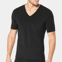 Sloggi Heren Zero Feel t-shirt met v-hals 10193891 black