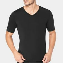 Sloggi Heren Ever Fresh t-shirt met v-hals 10193936 black