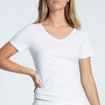 Calida Natural Joy shirt met korte mouw 14455 white
