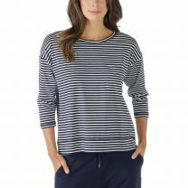 Mey dames Liv Shirt met driekwart mouw 16819 night blue