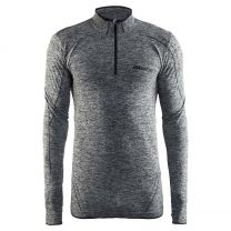 Craft Men Be Active shirt met lange mouwen en rits 1904480 B999 black
