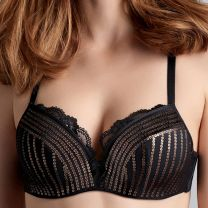 Marlies dekkers hollywood glam 19050 push-up bh zwart
