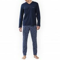 Mey Heren Nachtmode Night Pyjama lang 24481